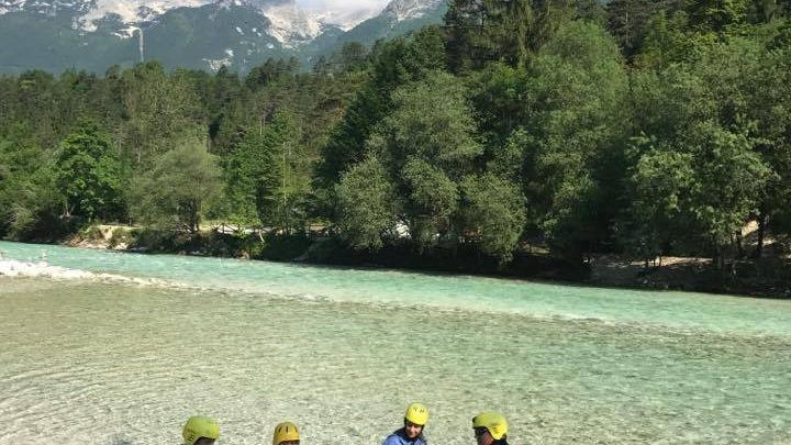 Alternatives to rafting on Soca