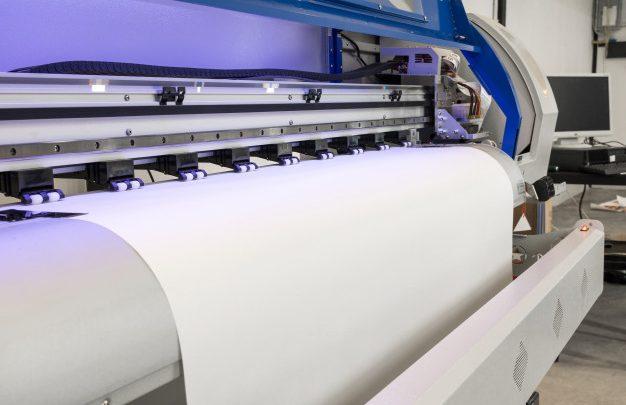 Večji projekti v profesionalni tiskarni
