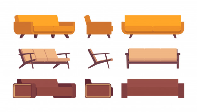 Sedežne garniture s kakovostnim ogrodjem