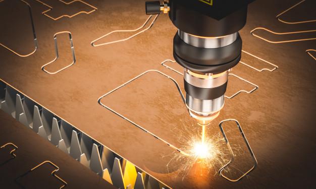 Lasersko rezanje se izvaja s pomočjo sodobnih in zmogljivih laserjev