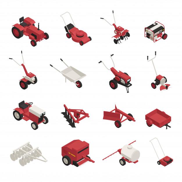 Rezervni deli za zanesljivo kmetijsko opremo