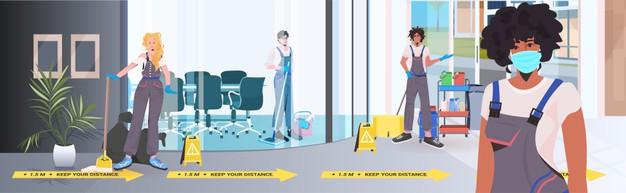 Čiščenje tal z učinkovitimi napravami