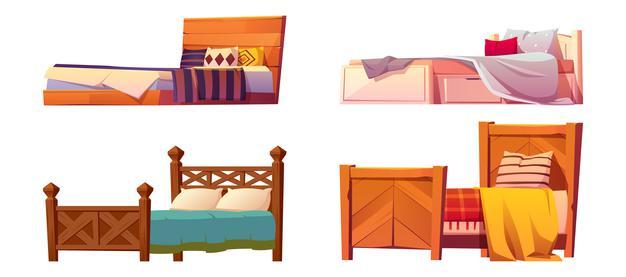 Ležišča, vzglavniki in posteljnina