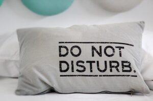 Vzglavniki so nujni za mirno spanje